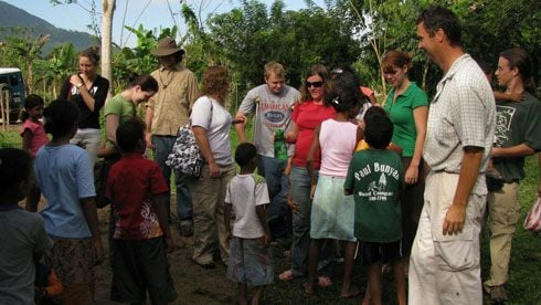 Volunteer in honduras
