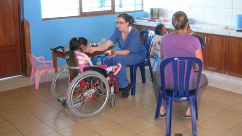Volunteer in peru-med