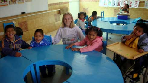 Volunteer in Peru