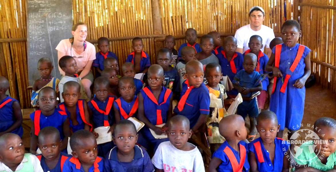 volunteer child programs uganda bulenga