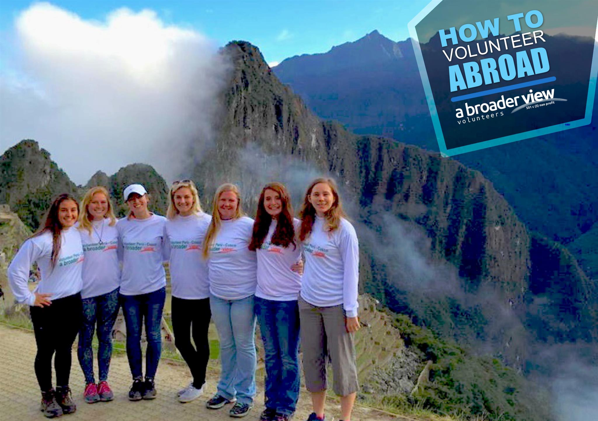 Volunteer Abroad Trips for Groups